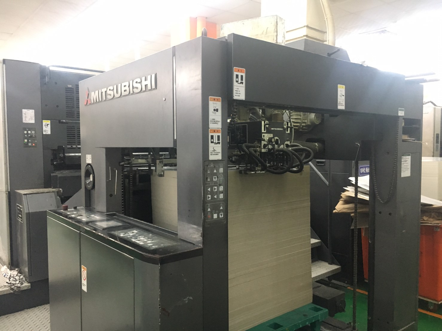 Used MITSUBISHI 5 color machine